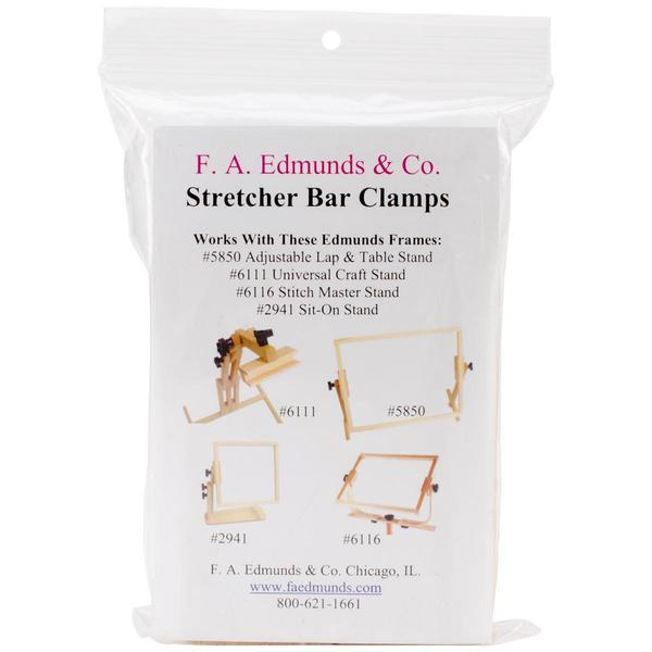 Clamp Converts Stitch Stands To Frames For Stretcher Bars -