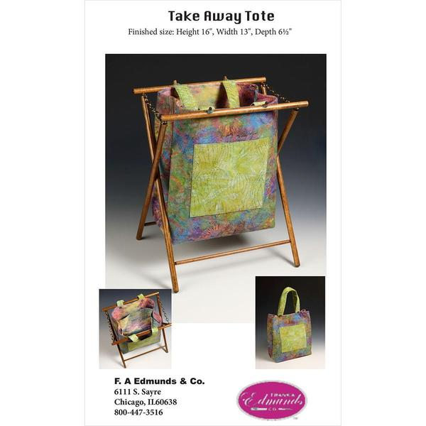 Take-Away-Tote Wood Frame -