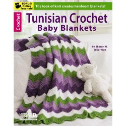 Leisure Arts - Tunisian Crochet Baby Blankets