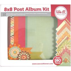 Post Album Kit 8 X8 280pcs -