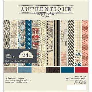 Abroad Bundle Cardstock Pad 6 X6 24/Sheets - 12 Double-Sided Designs/2 Each