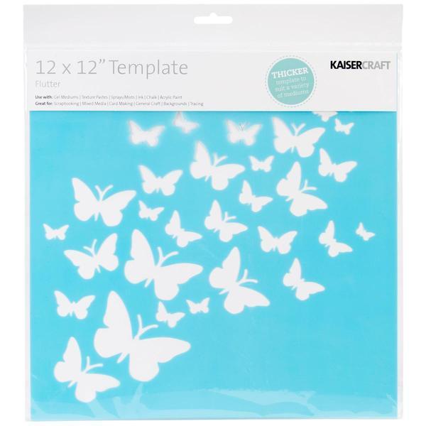 Template 12 X12 - Flutter