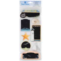 Paper House Chalkboard Stickers - Beach