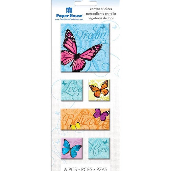 Paper House Canvas Sticker - Butterflies