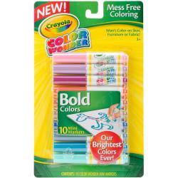 Crayola Color Wonder Mini Markers - Bold