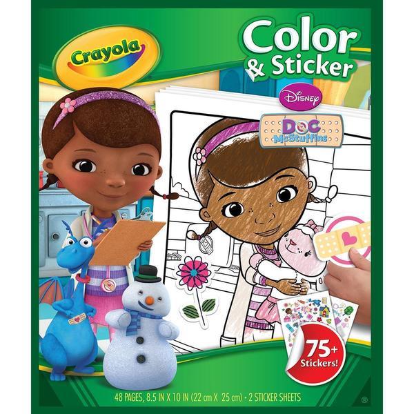 Color 'N Sticker Book - Doc McStuffins