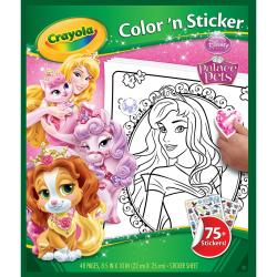 Color 'N Sticker Book - Palace Pets