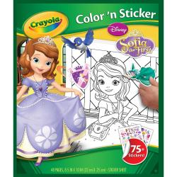 Color 'N Sticker Book - Sofia The First
