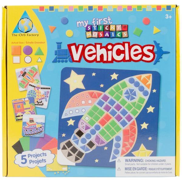 My First Sticky Mosaics Kit - Vehicle