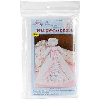 Stamped White Pillowcase Doll Kit - Sunbonnet Sue