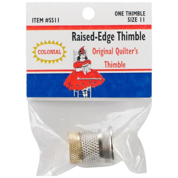 Raised-Edge Thimble - Size 11