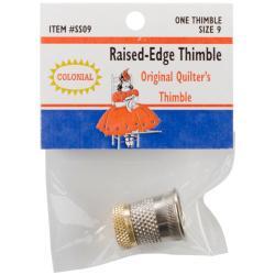 Raised-Edge Thimble - Size 9