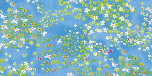 Decopatch Paper 15.75 X11.75 3 Sheets/Pkg - Blue And Green Field