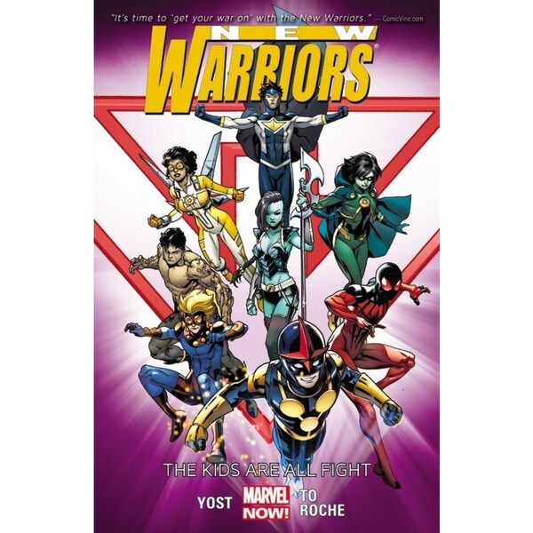 New Warriors 1: The Kids Are All Right (Paperback) 12610302