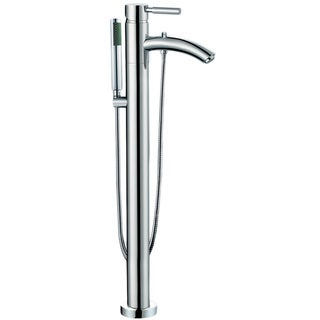 Wyndham Collection Taron 37-inch Chrome Tub Filler