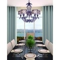 Mondrian 5-light Umber Bronze Chandelier