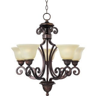 Symphony 5-light Bronze Chandelier