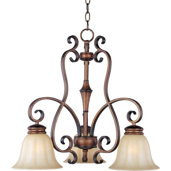 Fremont 3-light Bronze Chandelier