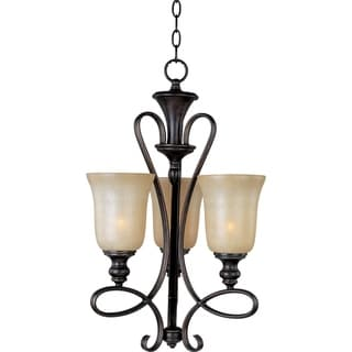 Infinity 3-light Oil Rubbed Bronze Chandelier