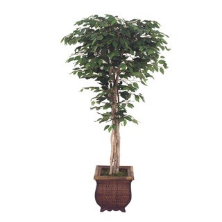 Ficus Tree 5-foot Decorative Silk Plant