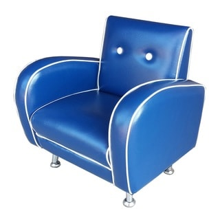 Red Vanilla Flambay Blue Mini Arm Chair