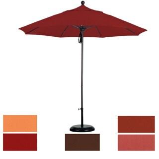 Commercial Grade 9-foot Sunbrella Aluminum Umbrella with Stand
