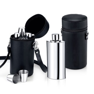 Travel Bar Flask Set