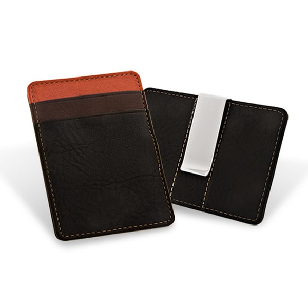 Wallet with Silverplated Money Clip