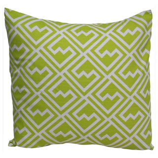 Taylor Marie 18 x 18-inch Citrine Green Throw Pillow Cover