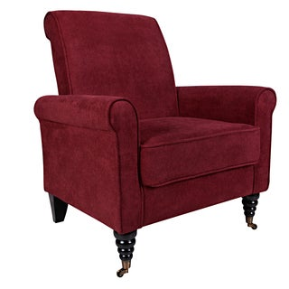 angelo:HOME Harlow Parisian Red Wine Arm Chair