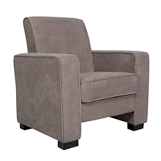 angelo:HOME Angie Parisian Tan/Grey Velvet Arm Chair