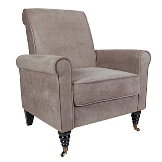 angelo:HOME Harlow Parisian Tan-Gray Velvet Chair