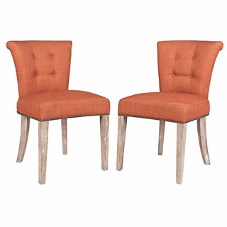 angelo:HOME Lexi California Vintage Orange Dining Chairs (Set of 2)