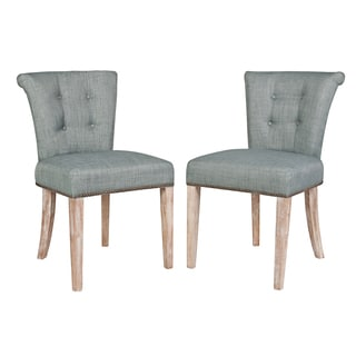 angelo:HOME Lexi Paris Sky Blue Dining Chairs(Set of 2)
