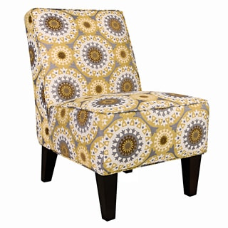 angelo:HOME Dover Golden Yellow Garden Wheel Armless Chair