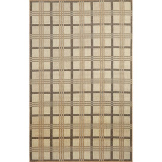 Checkered Outdoor Rug (4'11X7'6)