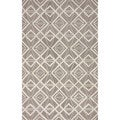 nuLOOM Hand-hooked Indoor/ Outdoor Grey Rug (8' 6 x 11' 6)
