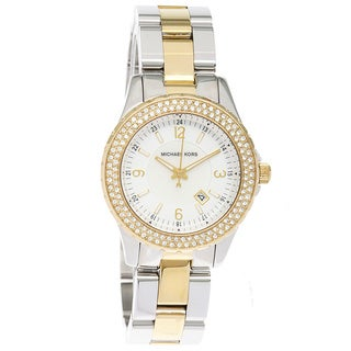 Michael Kors Women's MK5584 'Madison' Mini Two-Tone Glitz Watch