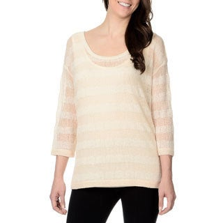 Chelsea & Theodore Women's Striped Light Sweater
