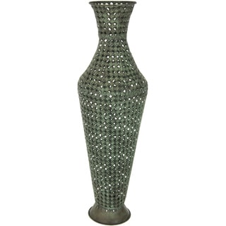 Wrought Iron Perforated Display Vase (China)