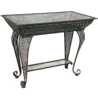 Handmade Multi-colored Wrought Iron Sundry Stand Table (China)