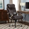 Serta AIR Tall Roasted Chestnut Bonded Leather Office Chair