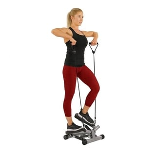 Sunny Twisting Stair Stepper with Bands