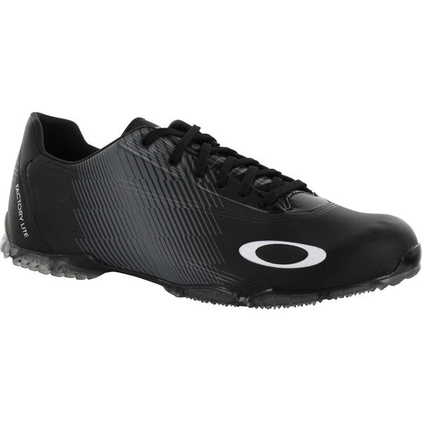 Oakley Men's Black/White Cipher-3 Spikeless Golf Shoes