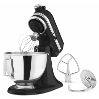 KitchenAid Onyx Black 4.5-quart Tilt-head Stand Mixer