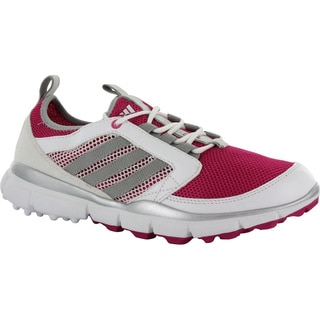 Adidas Bahia Magenta/Metallic Silver/Running White Women's adiStar climaCool Spikeless Golf Shoes