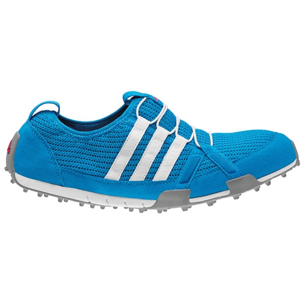 Adidas Womens Climacool Ballerina Spikeless Solar Blue/ White Golf Shoes
