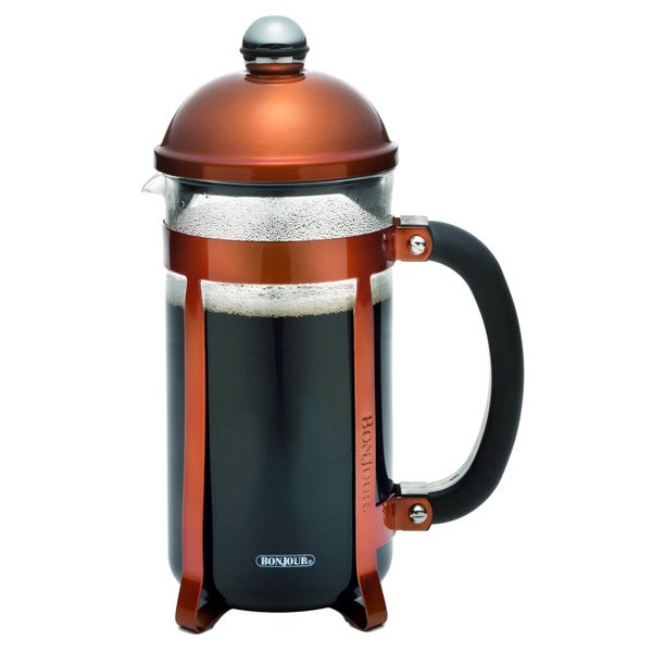 BonJour Coffee and Tea Maximus 8-cup Copper French Press