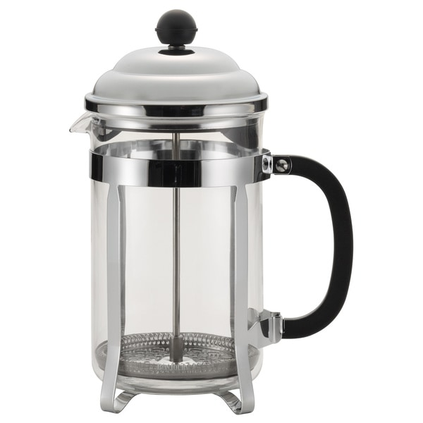 BonJour Coffee 12-cup Black Bijoux French Press 12613382