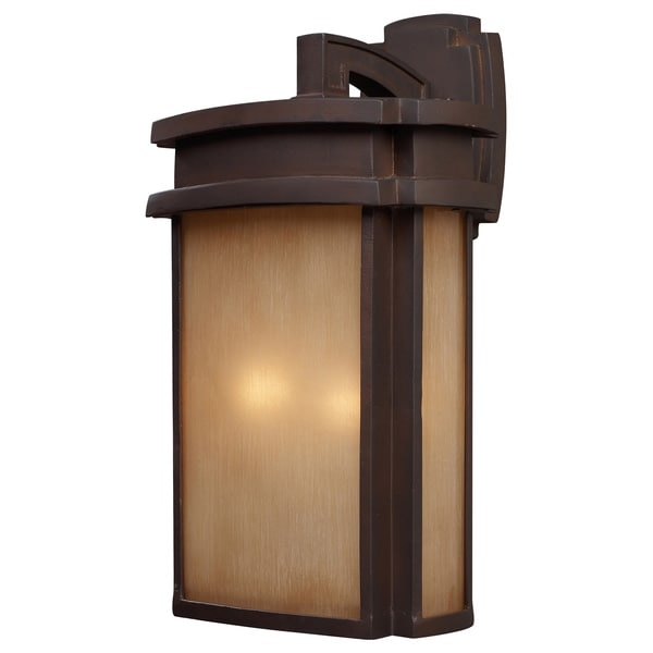 Sedona 2-light LED Clay Bronze Outdoor Wall Sconce